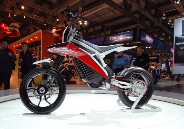 Up Close with the Husqvarna E Go Concept Husqvarna E Go EICMA 14 635x444