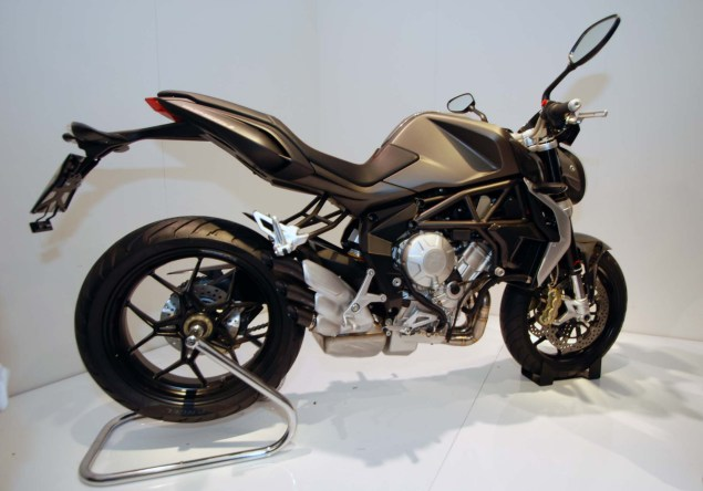 Up Close with the MV Agusta Brutale 675 2012 MV Agusta Brutale 675 EICMA 08 635x444