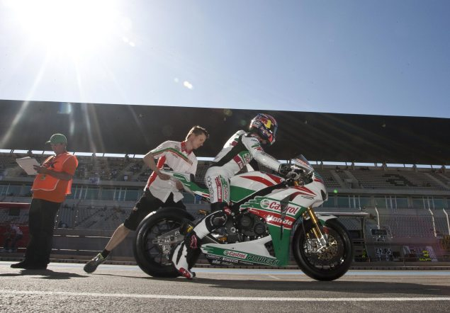 Watch Jonathan Reas Record WSBK Superpole at Portimao from a Mechanics Point of View Jonathan Rea Superpol Portimao 635x442