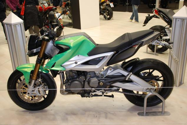 Benelli Due 756 Finally Goes Live...in China? benelli due eicma 2009 635x425