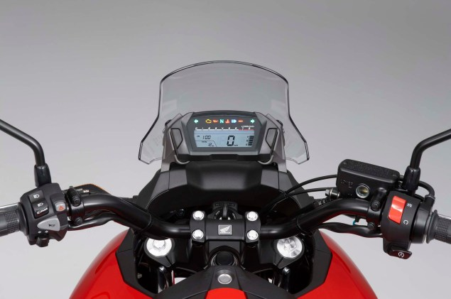 The 2012 Honda NC700X is Coming to America 2012 Honda NC700X 12 635x421