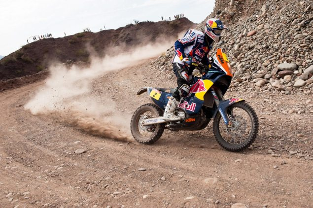 Stage 6 of the Dakar Rally Cancelled 60327 Despres MM 040112 Dakar 7182 635x422