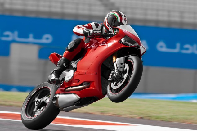 Call Your Mother Because Here is the Ultimate Ducati 1199 Panigale Photo Gallery Ducati 1199 Panigale Yas Marina Circuit 26 635x422