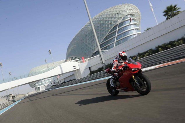 Ride Review: Ducati 1199 Panigale Ducati 1199 Panigale press launch Abu Dhabi Yas Marina 01 635x422