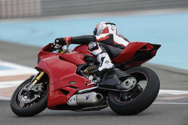 Ride Review: Ducati 1199 Panigale Ducati 1199 Panigale press launch Abu Dhabi Yas Marina 14 635x422