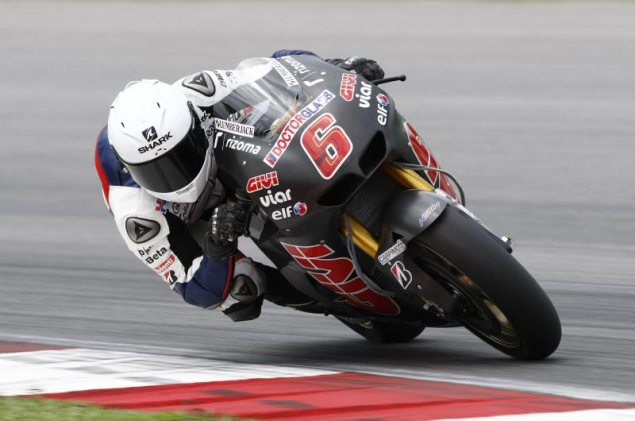 MotoGP: Test Results & Photos from Day 3 at Sepang HRC Sepang Day 3 Stefan Bradl 1 635x421