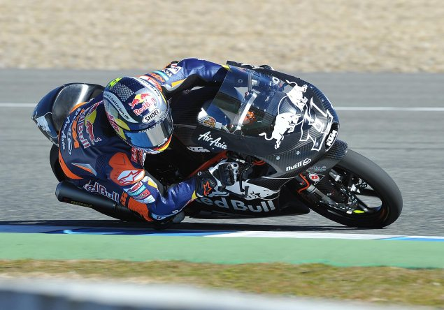 Listen to the KTM Moto3 Race Bike Purr KTM Moto3 Cortese 4 635x444