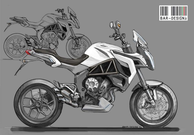 MV Agusta Rivale by Luca Bar Design MV Agusta Rivale Luca Bar Design 01 635x442