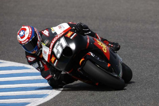 MotoGP: Testing at Jerez Provides Few Surprises HRC Jerez MotoGP test 2012 23 635x421