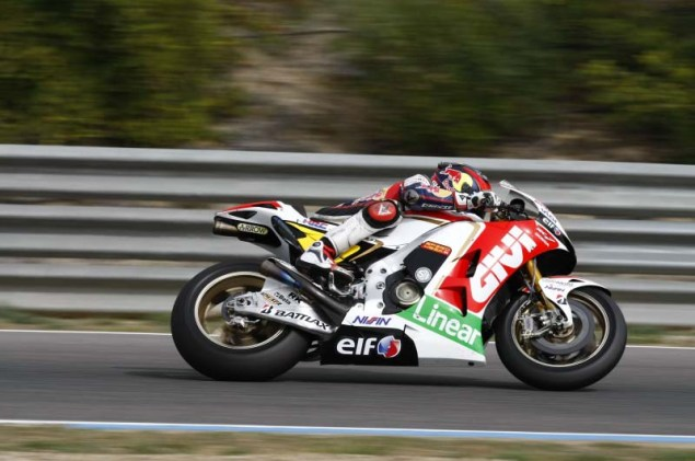 MotoGP: Testing at Jerez Provides Few Surprises HRC Jerez MotoGP test 2012 29 635x421