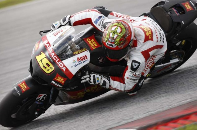 MotoGP: Test Results & Photos from Day 3 at Sepang II Honda Sepang Test MotoGP Day 3 17 635x421