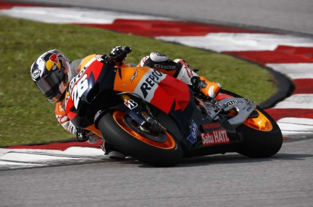MotoGP: Test Results & Photos from Day 3 at Sepang II Honda Sepang Test MotoGP Day 3 21 635x421