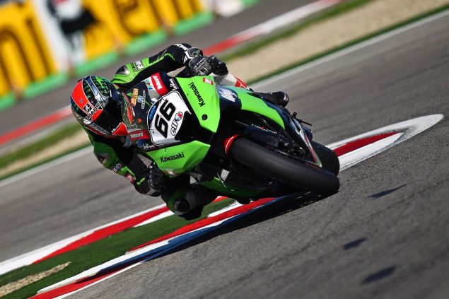 WSBK: Superpole Qualifying at Imola Starts a Trend Tom Sykes Kawasaki Racing Imola WSBK 2012 635x423