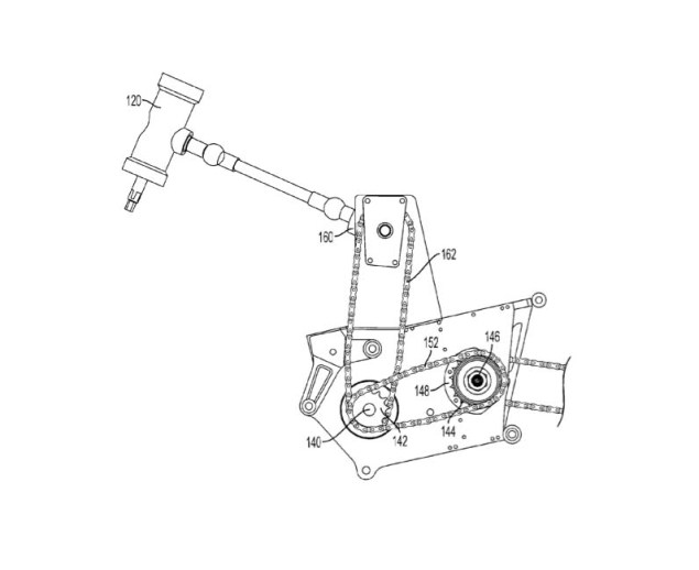 So You Want to Know How to Build a Front Wheel Regenerative Braking System on a Motorcycle? Chip Yates KERS patent 03 635x518