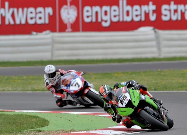 WSBK: Race Results for Race 2 at Imola Tom Sykes Carlos Checa WSBK Imola Race 2 635x459