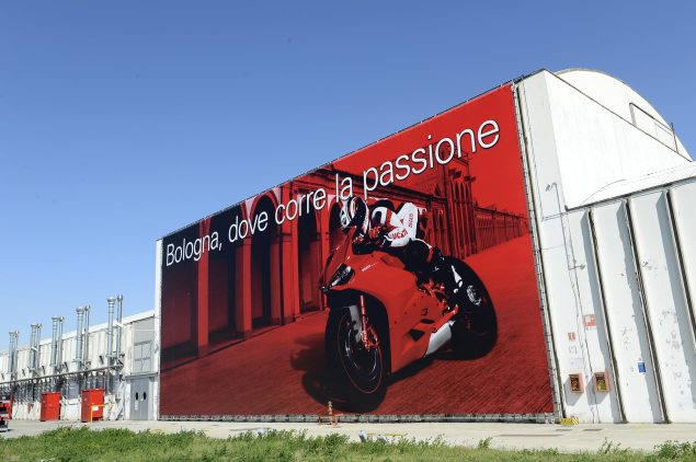 Ducati Factory Closes After Second Earthquake Hits Bologna Borgo Panigale Ducati factory 635x422