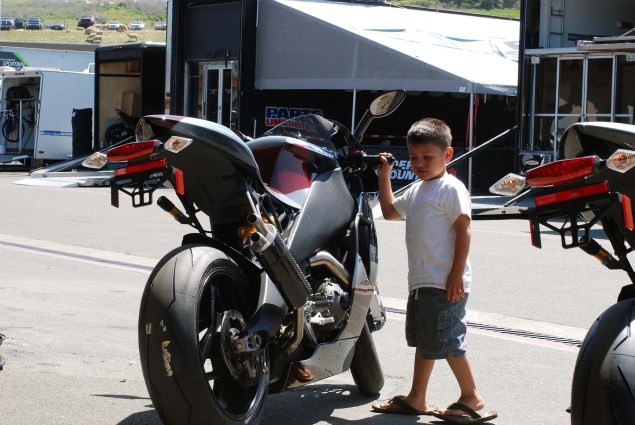 Photos: A Future AMA Star in the Making EBR 1190RS boy 08 635x425