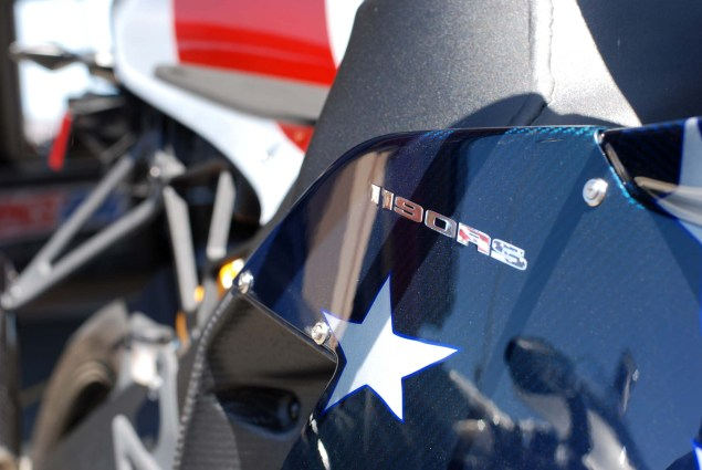 Up Close with the Erik Buell Racing 1190RS merica Edition Erik Buell Racing EBR 1190RS American Flag paint 03 635x425