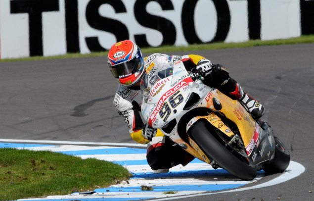 WSBK: Effenbert Sponsorship on the Rocks Says Liberty Racing   Blames Teams & Riders, Not Infront Jakub Smzr Donington Park 635x406