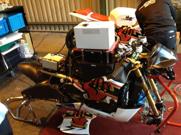 Photos: Mugen Shinden Caught Naked & Testing Mugen Shinden electric motorcycle 15 635x476