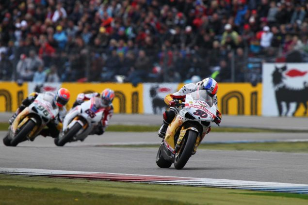 WSBK: Effenbert Liberty Racing vs. Infront Sports & Media Sylvain Guintoli Assen 635x423