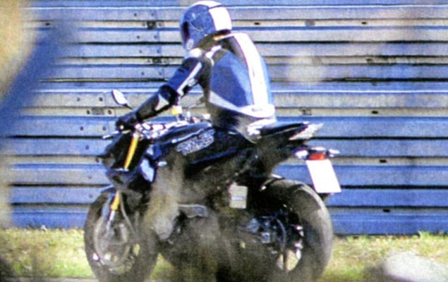 Spy Photo: BMW S1000RR Naked Bike Caught Testing BMW S1000RR streetfighter spy photo