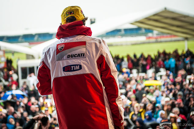 Thursday at Silverstone with Scott Jones Day of Champions Rossi Crowd