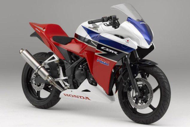 HRCs Honda CBR250R Cup Bike HRC Honda CBR250R race 635x423