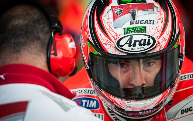 Trackside Tuesday: Seeing is Not Always Believing Nicky Hayden Silverstone Trackside Tuesday Scott Jones