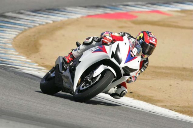 Was LCR Hondas Stefan Bradl at Your Last Track Day? Stefan Bradl Laguna Seca Track Day 635x422