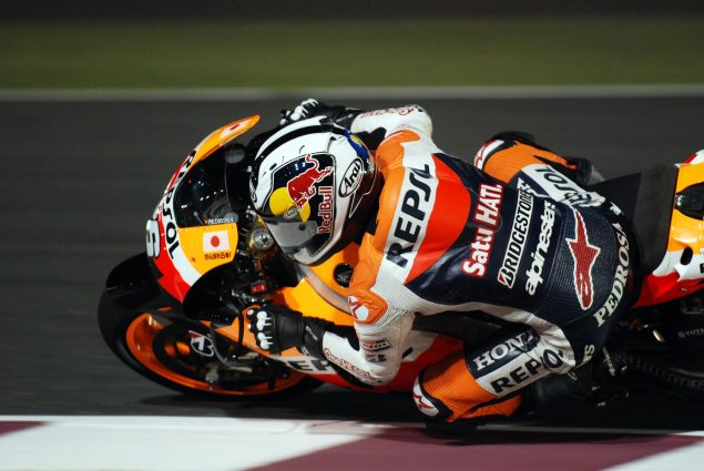 The Four Killer Apps of the Electric Motorcycle Dani Pedrosa Qatar GP Jensen Beeler 635x425