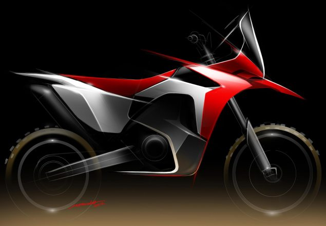 Honda Will Race in the 2013 Dakar Rally with Factory Team Honda HRC Dakar Rally Concept 635x442