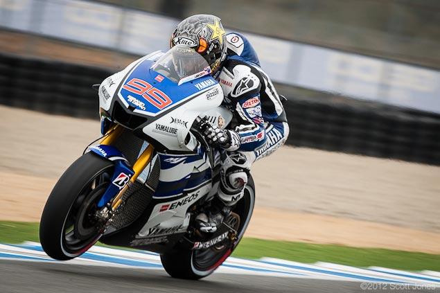 MotoGP: Lap Record Falls During Qualifying at Laguna Seca Jorge Lorenzo MotoGP Laguna Seca Scott Jones