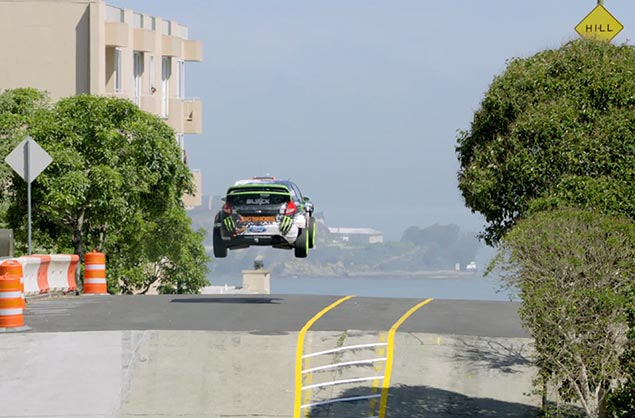 Video: Ken Block Gymkhanas San Francisco    Awesomeness Tenuously Linked to Motorcycles Ken Block Gymkhana San Francisco