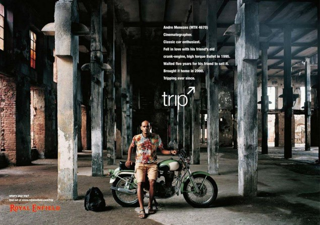 Royal Enfield Understands Motorcycle Branding Royal Enfield Tripping ads 02 635x448