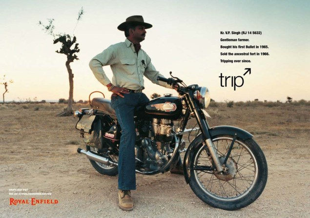 Royal Enfield Understands Motorcycle Branding Royal Enfield Tripping ads 04 635x448