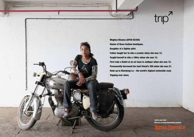 Royal Enfield Understands Motorcycle Branding Royal Enfield Tripping ads 07 635x448
