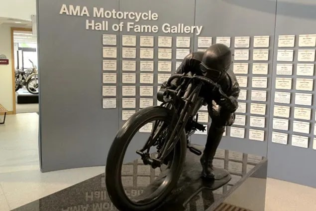 Kenny Roberts Sr. Leaves AMA Motorcycle Hall of Fame ama motorcycle hall of fame