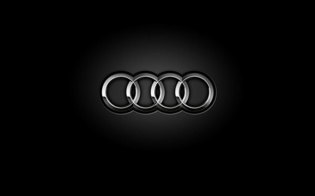 Audi Ponders Making a Two Wheeler audi logo black 635x396