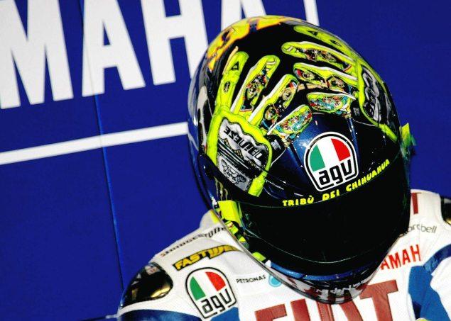 Video: Valentino Rossis Mugello Helmets, Part 1 valentino rossi mugello helmet 635x453