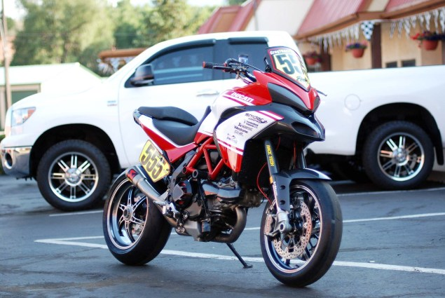 2012 Ducati Multistrada 1200 S Pikes Peak Race Bike 2012 Ducati Multistrada 1200 Pikes Peak race bike 16 635x425
