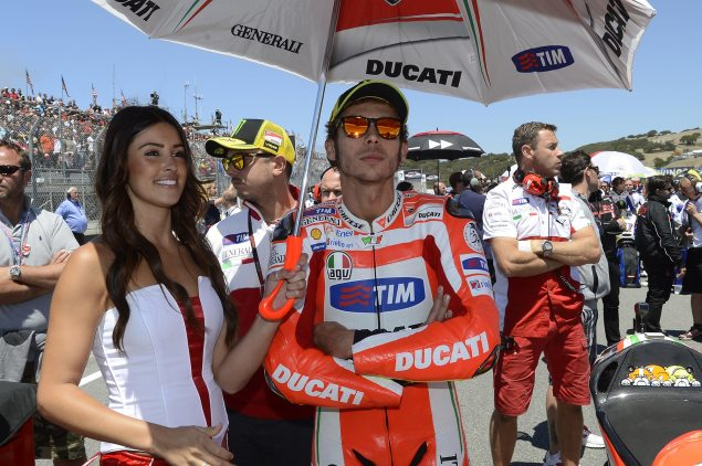 MotoGP: After Rossi Moves, Who Goes Where? Ducati Corse Valentino Rossi 635x422