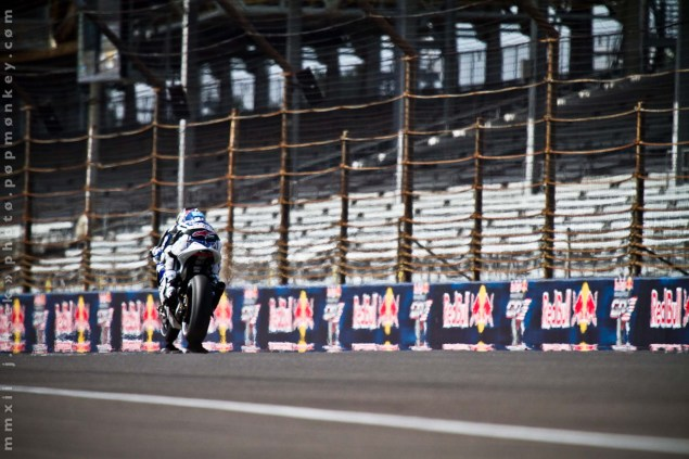 MotoGP: Inspiring Moments Give Way to Uninspiring Racing at the Indianapolis GP Indianapolis GP Friday Jules Cisek 231 635x423