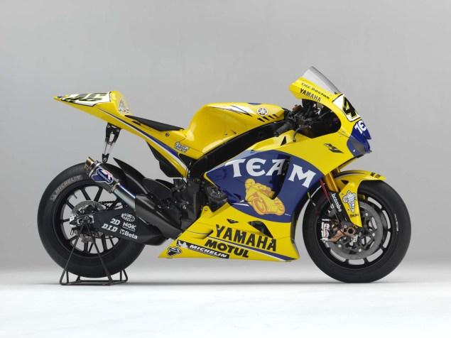 XXX: Valentino Rossis 2006 Yamaha YZR M1 Valentino Rossi 2006 Yamaha YZR M1 hi res 07 635x476