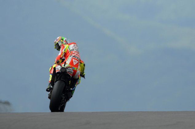Rossi, Ducati, & Yamaha: And The Winner is... Valentino Rossi Ducati Corse MotoGP 635x423