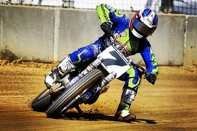 Video: Peoria Euphoria with Sammy Halbert sammy halbert flat track