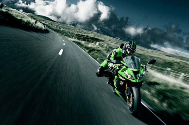 New Kawasaki Ninja ZX 6R Gets Traction Control for 2013 2013 Kawasaki Ninja ZX 6R 29 635x420