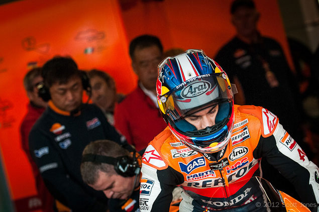 Trackside Tuesday: Dani Pedrosas Misano Nightmare Dani Pedrosa Misano Nightmare Scott Jones