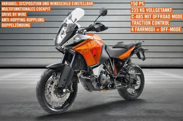 2013 KTM 1190 Adventure Breaks Cover KTM 1190 Adventure Leak 635x423