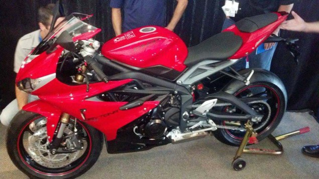 Spotted: 2013 Triumph Daytona 675 2013 Triumph Daytona 675 01 635x357